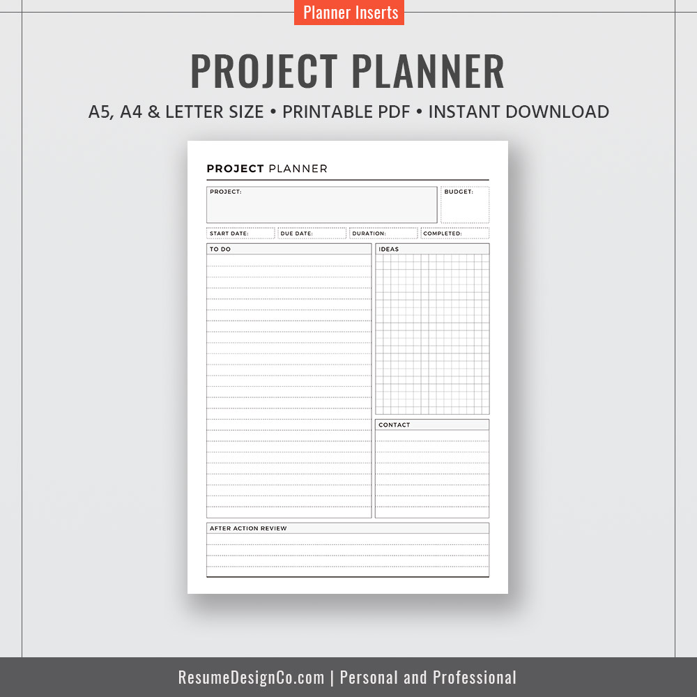 This is a photo of Printable Project Planner with regard to quilting