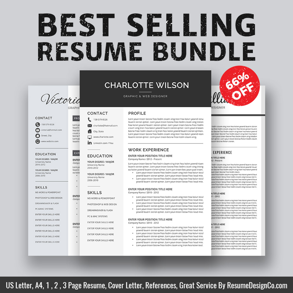 Describe Yourself With These Resume Templates For Your Next
