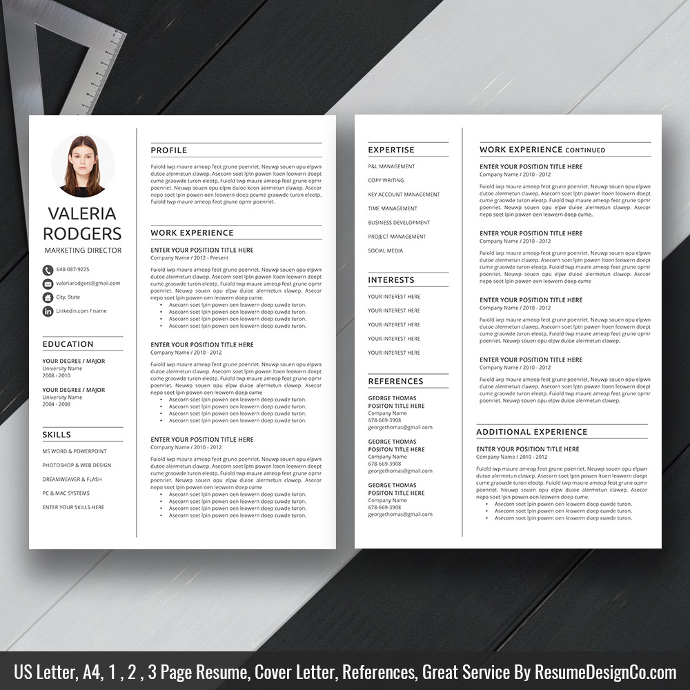 References For Resume Template from www.resumedesignco.com